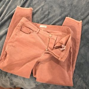 LOFT soft pink cords
